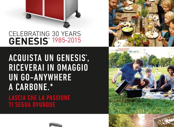 Compra un Genesis: il Go Anywhere è in regalo!