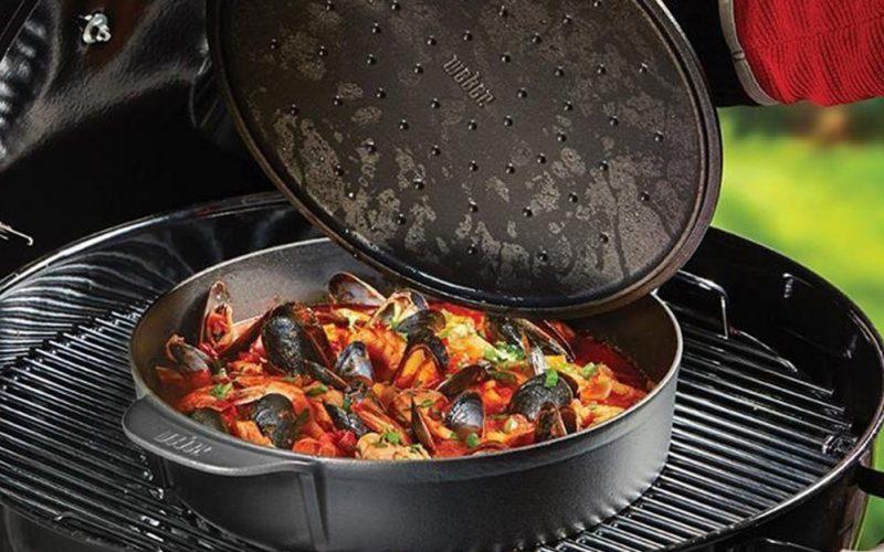 Accessori barbecue: cocotte gourmet system di Weber