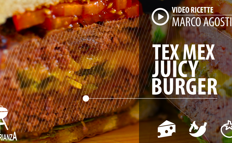 Video ricetta barbecue: Tex Mex Juicy Burger