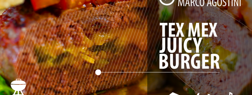 Video ricetta barbecue: Tex Mex Juicy Burger