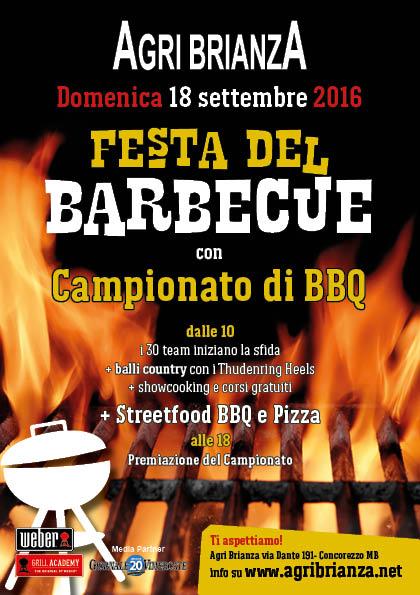 Festa del barbecue campionato di bbq grill academy agri for Agri brianza natale