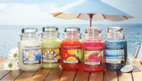 Fragranze estive yankee candle