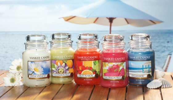 Candele profumate Yankee Candle: scopri le 4 fragranze dell'estate 2016