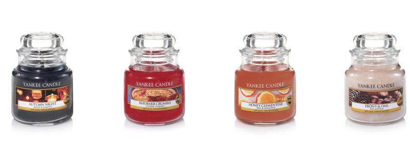 Yankee Candle: profumazioni autunnali