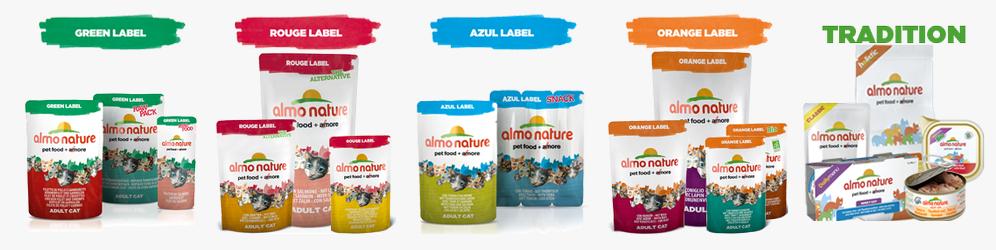 linea-di-prodotti-almo-nature-cibo-per-cani-e-gatti