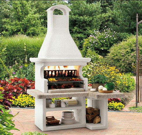 Barbecue in muratura o con coperchio come scegliere - Forno barbecue muratura esterno ...