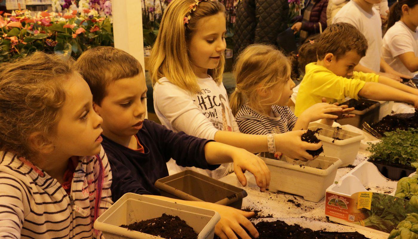 Garden for Kids: piantiamo le aromatiche!