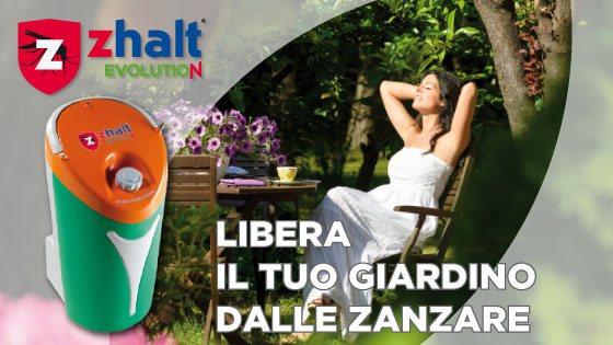 Zhalt Evolution e Freezanz: libera dalle zanzare il tuo giardino