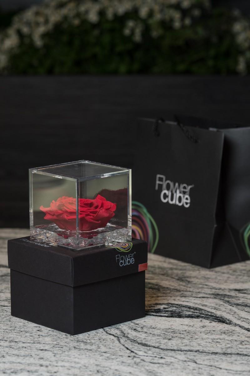 Rose Stabilizzate Flowercube: non appassiscono mai!
