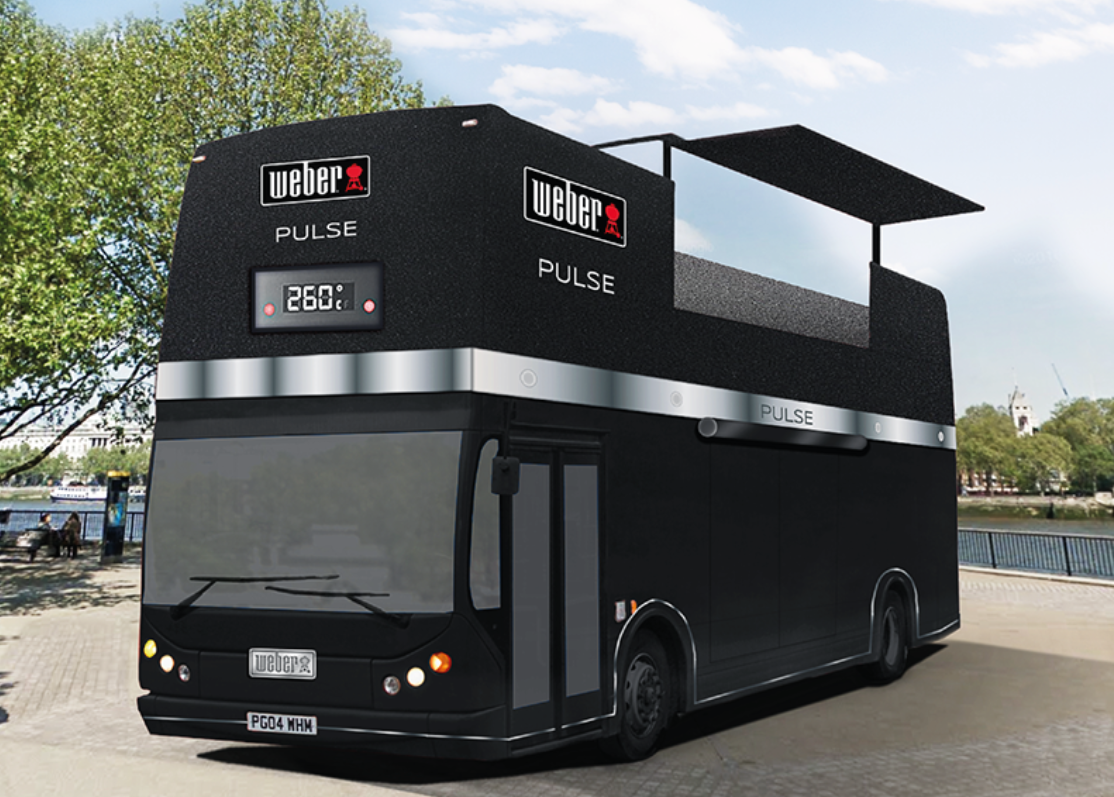 Arriva il Weber PULSE BUS