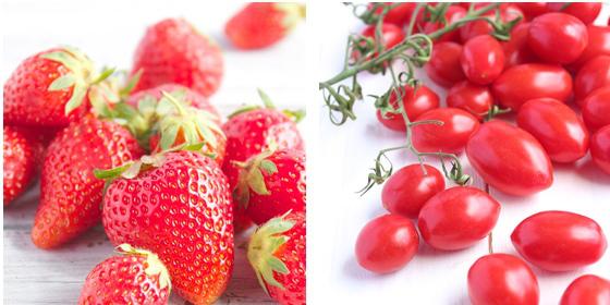 Dall'orto alla tavola: Pomodori e Fragole