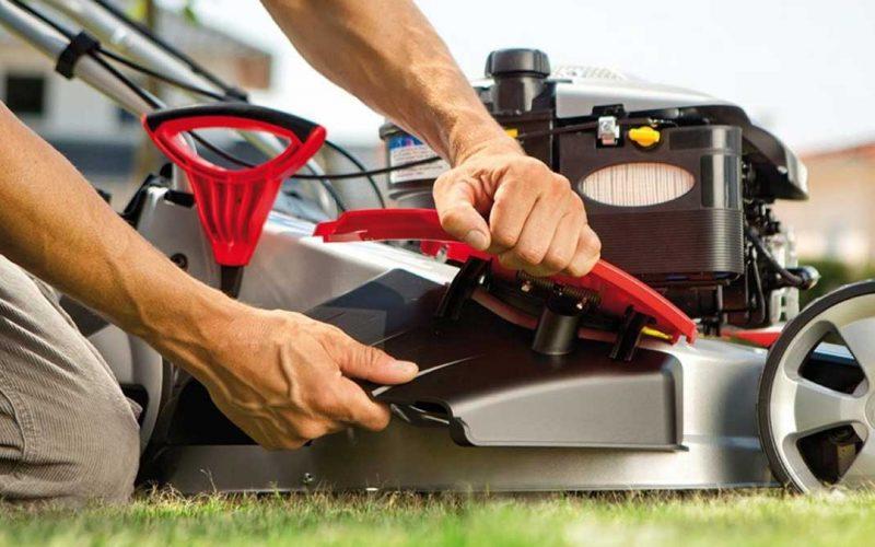 assistenza e riparazione macchine giardinaggio