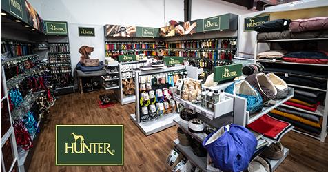 Inaugurazione shop HUNTER