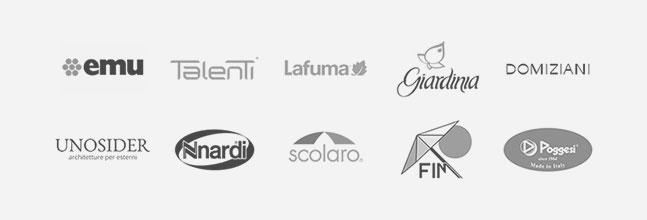 Emu | Talenti | Lafuma | Giardinia | Domiziani | Unosider | Nardi | Scolaro | FIM | Poggesi