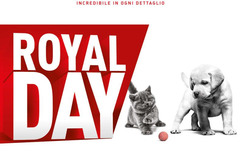 Royal Canin – giornata promozionale