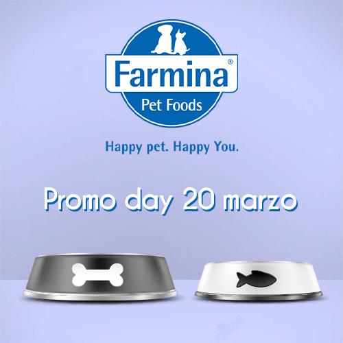 Promo Day – Farmina 20/03/21