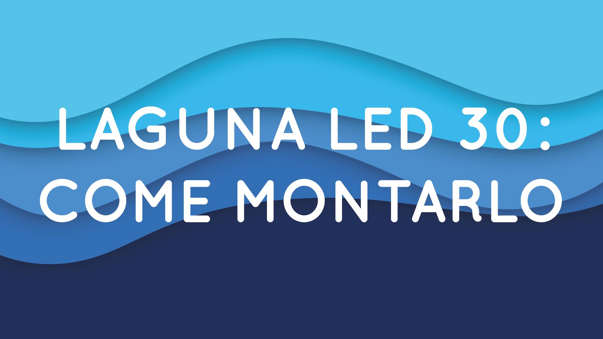 Montare l'acquario Laguna LED 30
