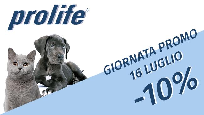 PET DAY: Prolife -10% 16/07/21