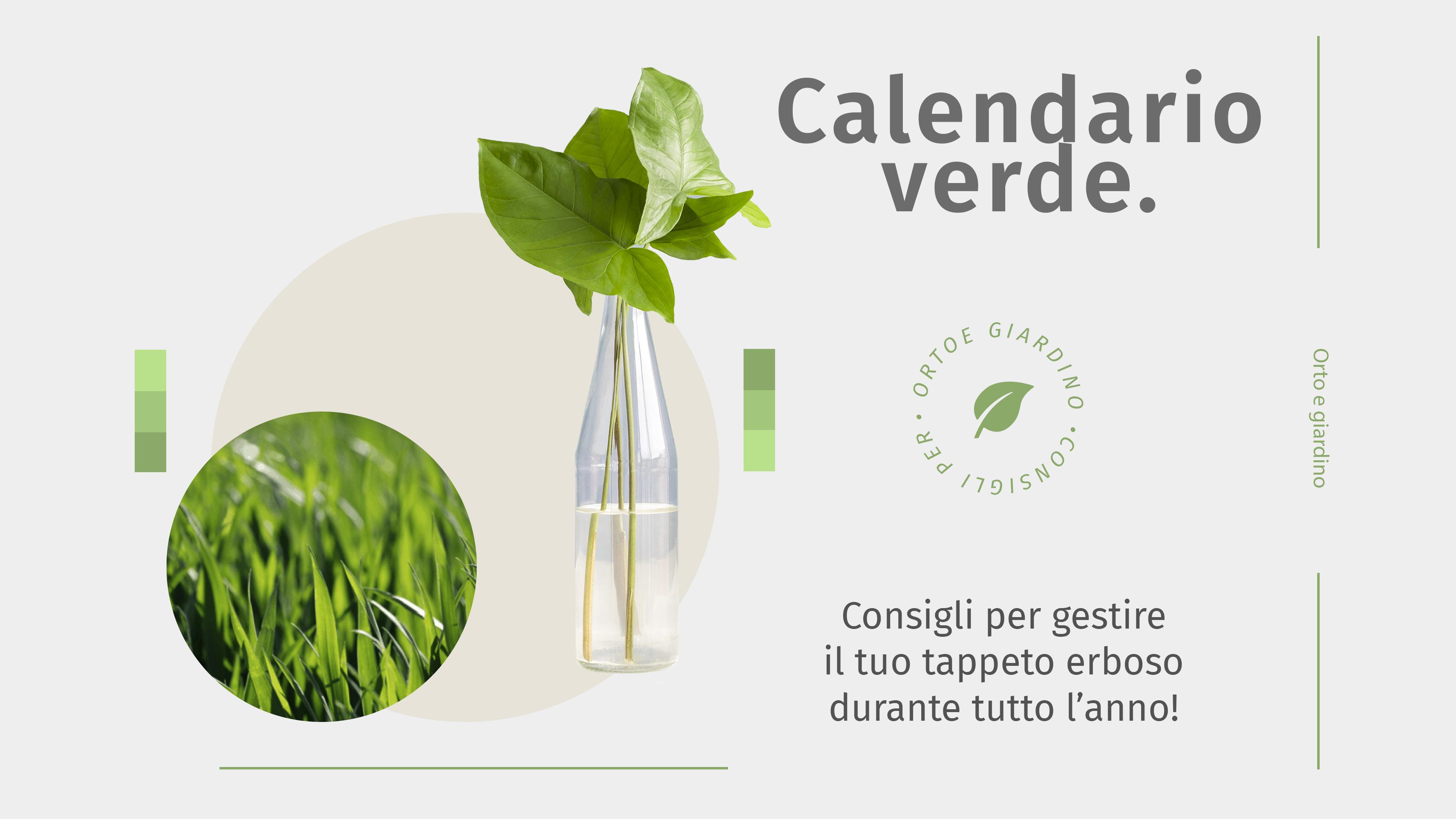 Calendario Verde: agosto