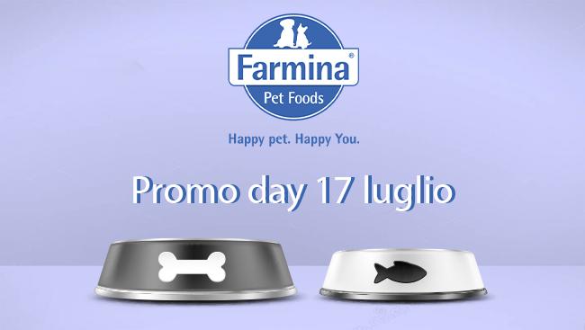 Promo Day – Farmina 17/07/21
